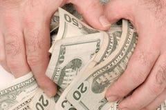 Contant geld ter beschikking royalty-vrije stock foto