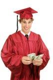 Contant geld voor Graduatie Stock Foto's