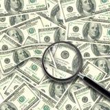 Contant geldachtergrond Royalty-vrije Stock Afbeelding