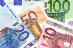 Contant geldeuro Royalty-vrije Stock Foto's
