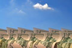 Contant geldgolf Royalty-vrije Stock Foto's