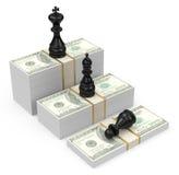 Contant geldkoning Stock Afbeelding