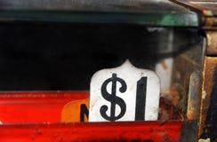 Contant geldverkoop Stock Foto's