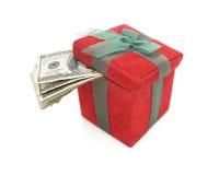 Contanti del regalo Fotografie Stock