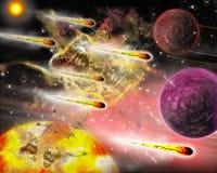 Contanti della meteorite. royalty illustrazione gratis