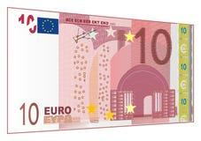 Contanti di carta dell'euro Fotografie Stock Libere da Diritti