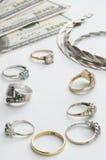 Contanti per oro Fotografia Stock