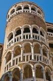 Contarini del Bovolo Palace at Venice, Italy Stock Image