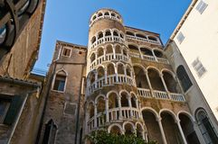 Contarini del Bovolo Palace at Venice, Italy Stock Images