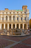 Contarini fountain, Bergamo, Italy Royalty Free Stock Images
