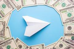100 contas de dólar Imagem de Stock