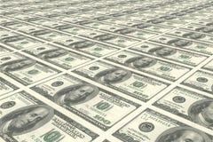 Contas de dólar Imagens de Stock