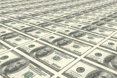 Contas de dólar Foto de Stock Royalty Free