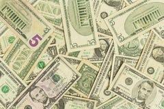 Contas de dólar Fotografia de Stock