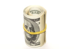 Contas de dólar Fotografia de Stock Royalty Free