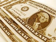 Contas de dólar Fotos de Stock