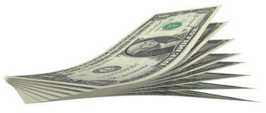 Contas de dólar Foto de Stock