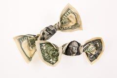 Contas de dólar americanas Imagens de Stock