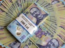 Contas de dinheiro Imagem de Stock