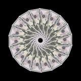 Contas do dólar americano ilustração do vetor