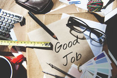 Contato bom Job Concept assistente Foto de Stock Royalty Free