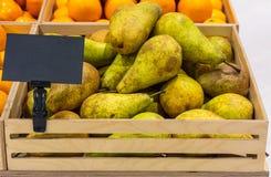 Contatore con frutta fotografie stock libere da diritti