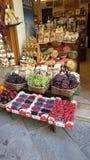 Contatore del negozio della frutta Fotografia Stock