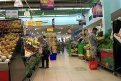 Contatore di verdure fotografia stock libera da diritti
