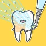 Contatore e dente ultrasonici Fotografia Stock