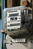 Contatore elettrico Fotografia Stock Libera da Diritti