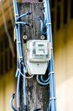 Contatore elettrico Fotografia Stock