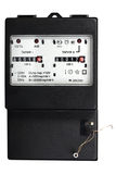contatore elettrico di Due-tariffa Fotografia Stock