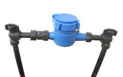 Contatore per acqua Fotografia Stock
