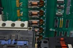 Contatores elétricos Foto de Stock