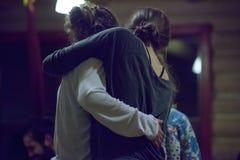 contatto dei ballerini immagini stock libere da diritti