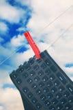Contatto del cielo Fotografie Stock