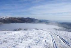 Conte d'hiver de montagne dans Gelendzhik Photographie stock
