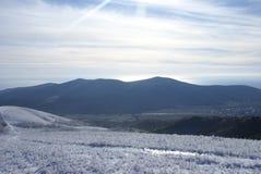 Conte d'hiver de montagne dans Gelendzhik Image stock