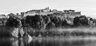Conte de fées dans Valença, Portugal photographie stock libre de droits