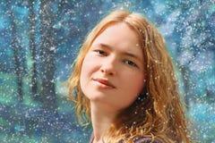 Conte de fées de l'hiver Image libre de droits