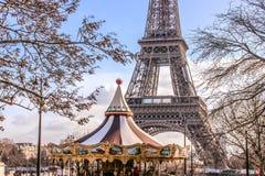 Conte de fées de Tour Eiffel, visite Eiffel, Paris, France 2018 image libre de droits