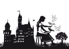Conte de fées de Cendrillon Image libre de droits
