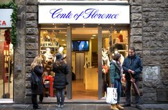 Conte of Florence fashion store Stock Photo