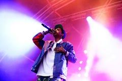 Conte Sweatshirt (rapper e membro americani di Odd Future collettivo hip-hop) Fotografia Stock