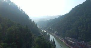 Contea di Fenghuang in Cina stock footage