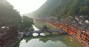 Contea di Fenghuang in Cina video d archivio