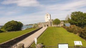 Contea il Donegal Irlanda di Creeslough del castello della daina fotografia stock libera da diritti
