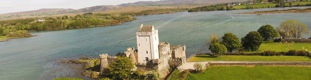 Contea il Donegal Irlanda di Creeslough del castello della daina immagini stock