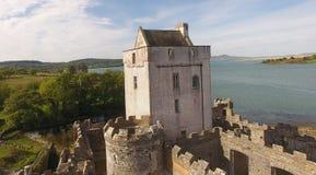 Contea il Donegal Irlanda di Creeslough del castello della daina fotografie stock libere da diritti