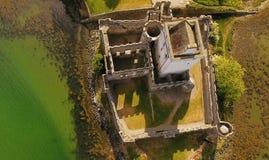 Contea il Donegal Irlanda di Creeslough del castello della daina fotografia stock